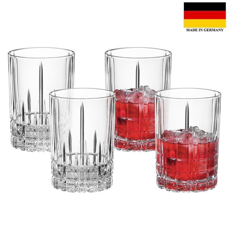 Spiegelau – Perfect Serve Collection by Stephan Hinz Small Long Drink 240ml Set of 4 (Made in Germany)
