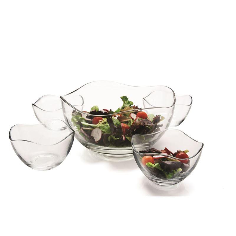 Circleware – Gala Salad Bowl 5pc Set
