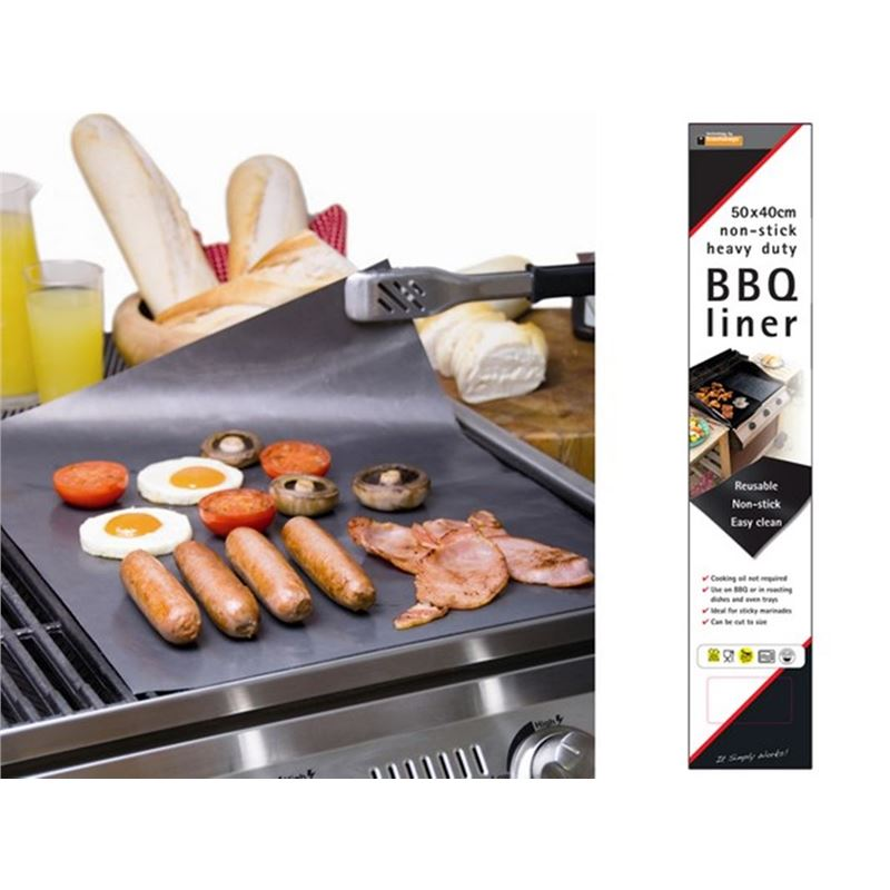 BBQ Non-Stick Heavy Duty Liner 40x50cm Made in the UK