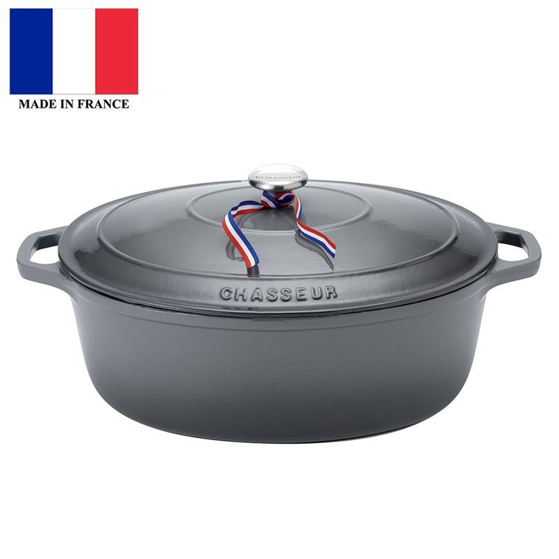 Chasseur Cast Iron – CaviarOval French Oven 27cm 4Ltr (Made in France)
