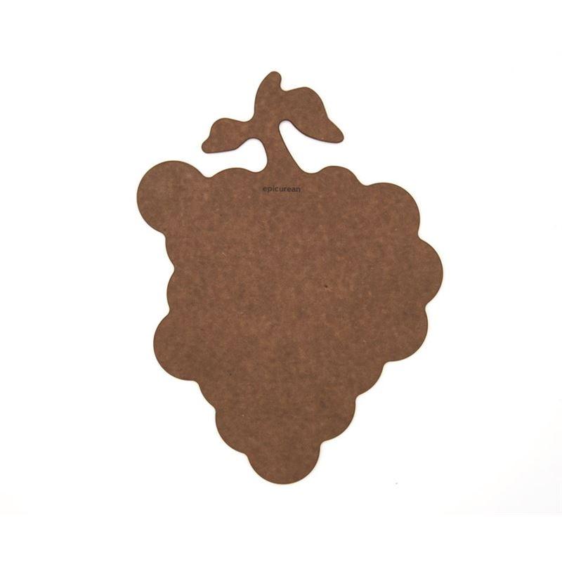 Epicurean – Novelty Grape 27x36cm Nutmeg/Natural (Made in the U.S.A)