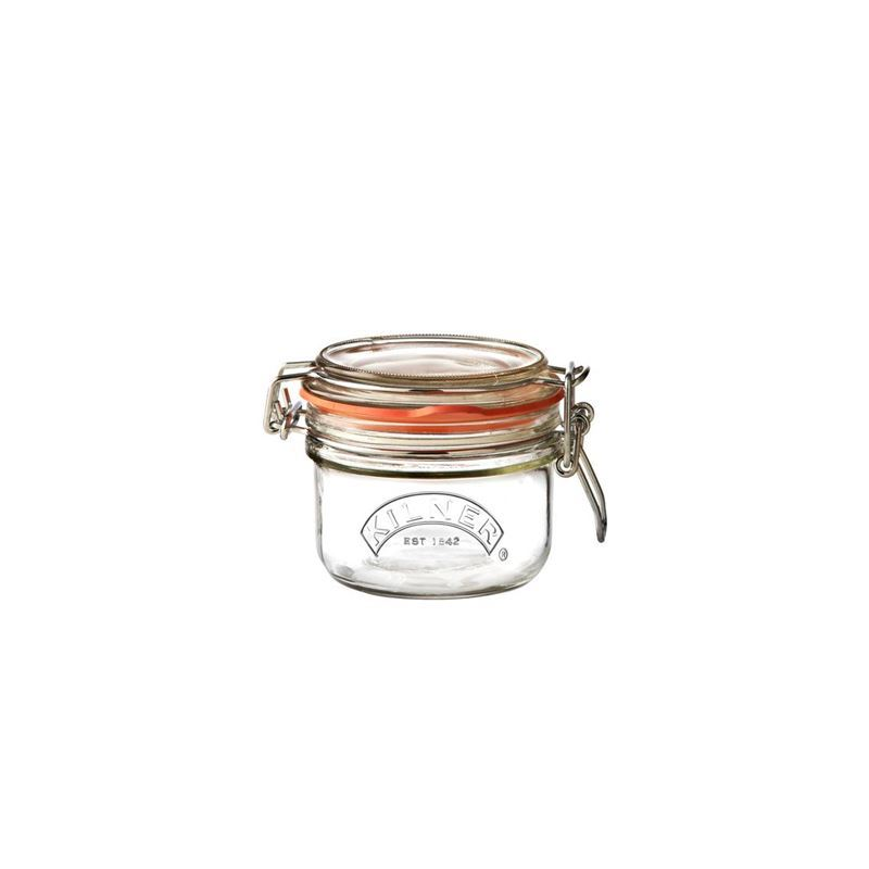 Kilner – Round Clip Top Glass Jar 125ml