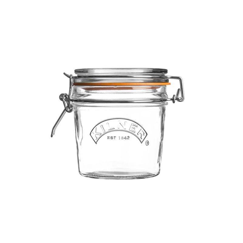 Kilner – Round Clip Top Glass Jar 350ml