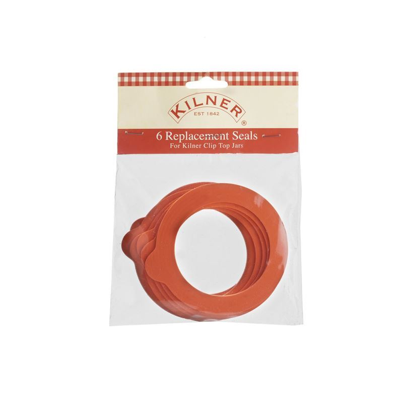 Kilner – Replacement Standard Rubber Seals Pack of 6