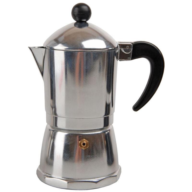 Tradizione Italiana by Benzer – Barista Coffee Maker 6 Cup