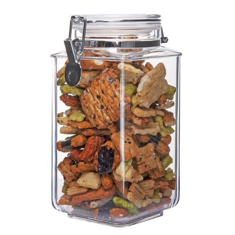 Benzer – Stor-Tite Square BPA Free Canister 1.56Ltr 13.5x11x21.8cm