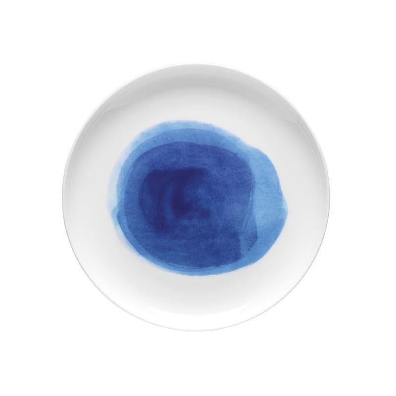 Ecology – Watercolour Side Plate Ocean Blue 21cm – Fine Bone China
