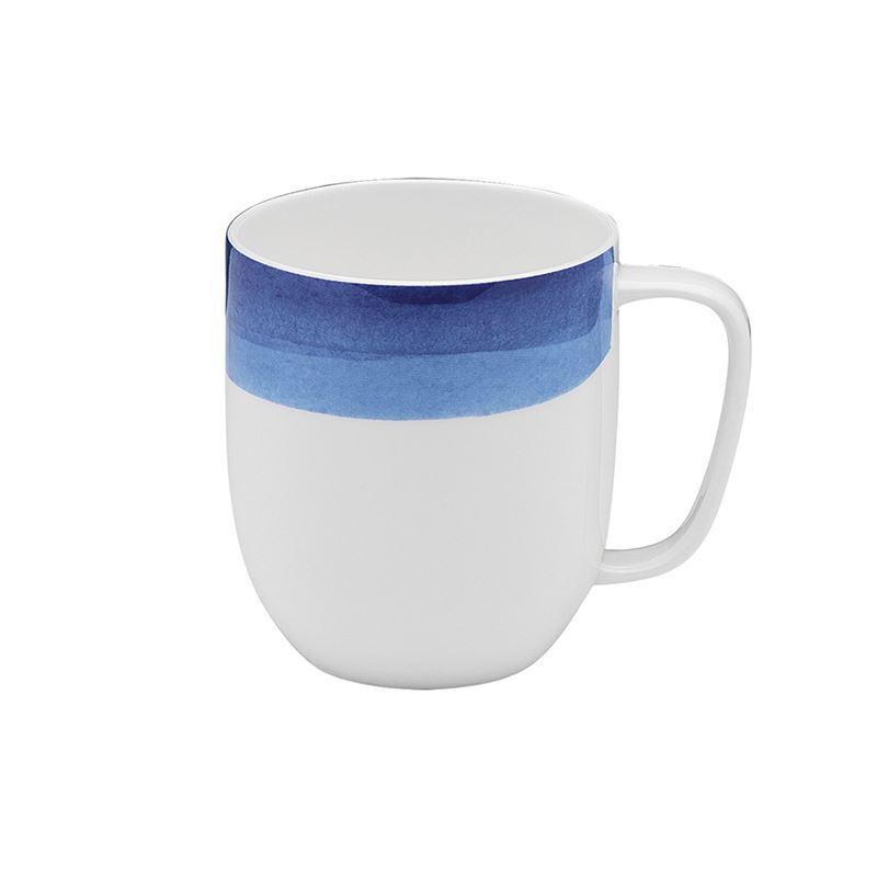 Ecology – Watercolour Mug Ocean Blue 380ml – Fine Bone China