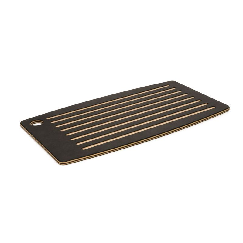 Epicurean – Grooved Bread Board 46x25cm Slate/Natural (Made in the U.S.A)