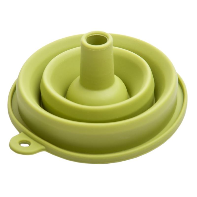 samsam – Kompact Collapsible Silicone Funnel Green