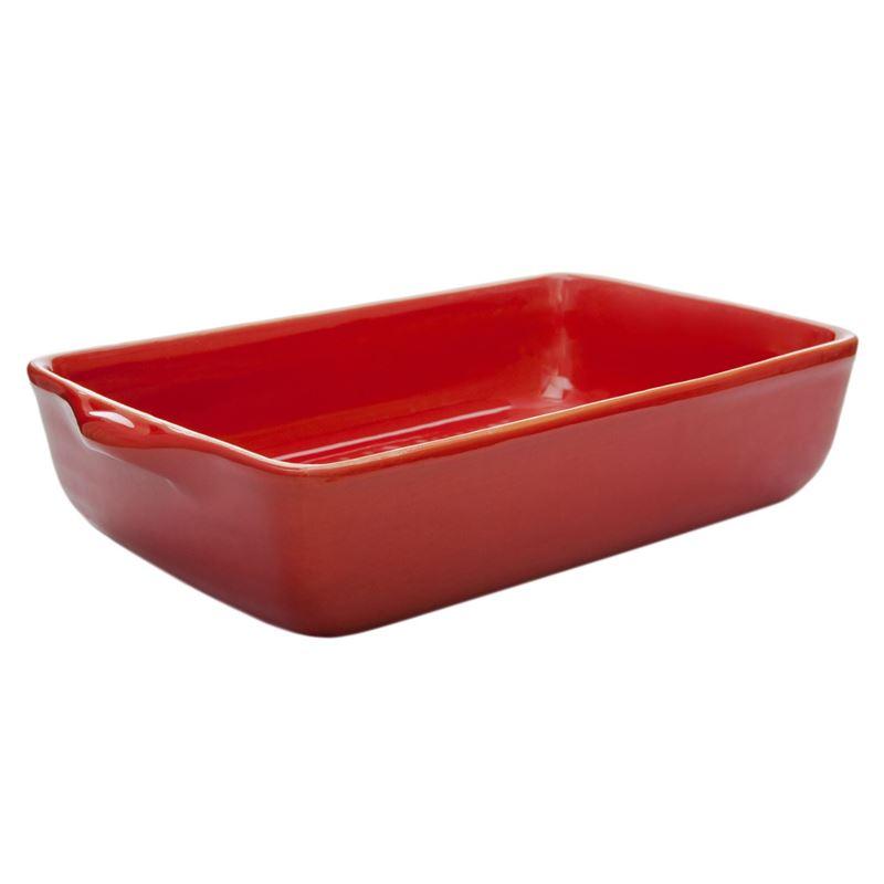 Amano – Costa de Luna Delicioso Rectangular Baker Medium 32cm Red- Made in Portugal