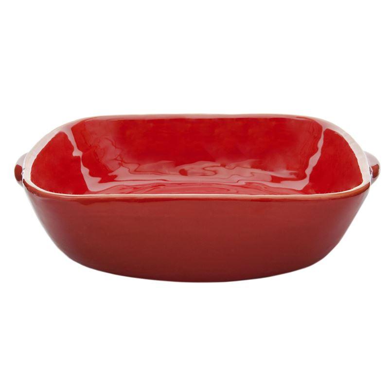 Amano – Costa de Luna Delicioso Square Baker with Handles 29cm Red –  Made in Portugal