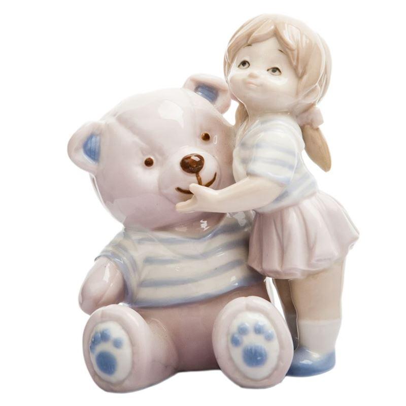 Dan Samuels – My Teddy Girl Porcelain Figurine 8cm