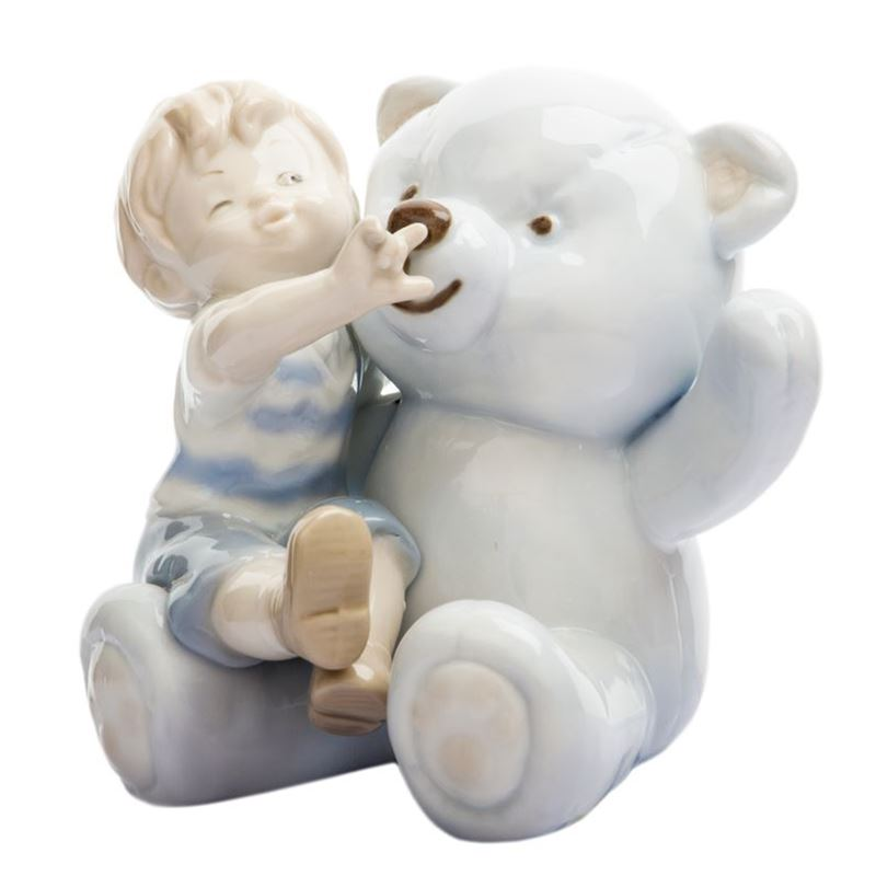Dan Samuels – My Teddy Boy Porcelain Figurine 9.5cm