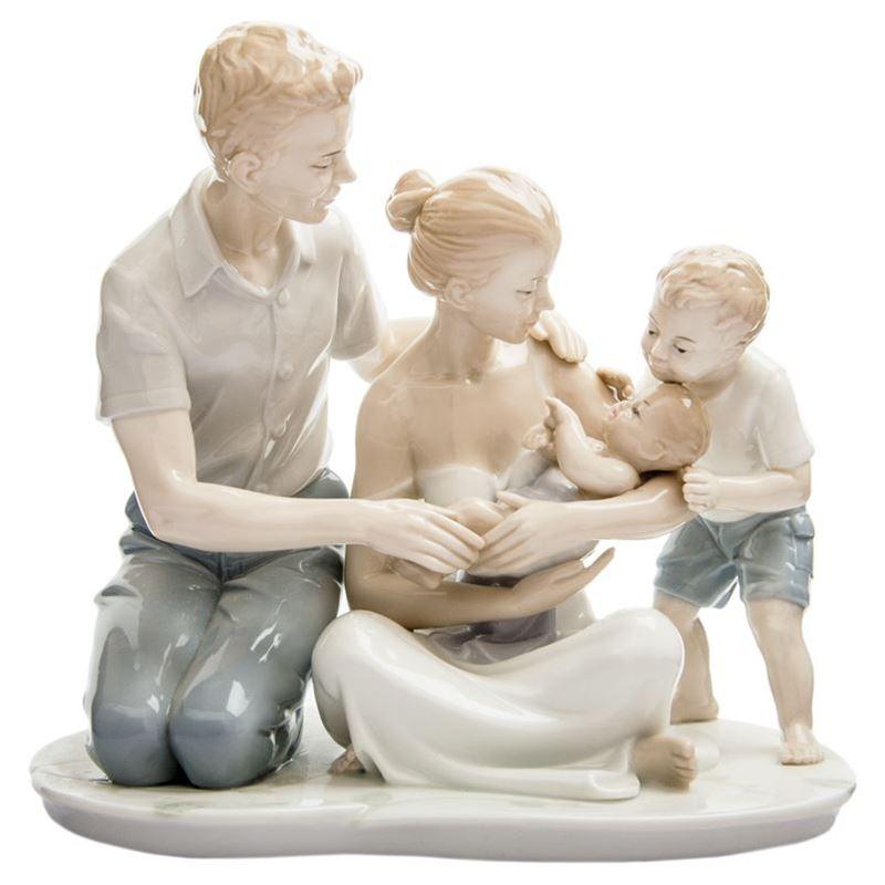 Dan Samuels – Family Love Porcelain Figurine 23cm