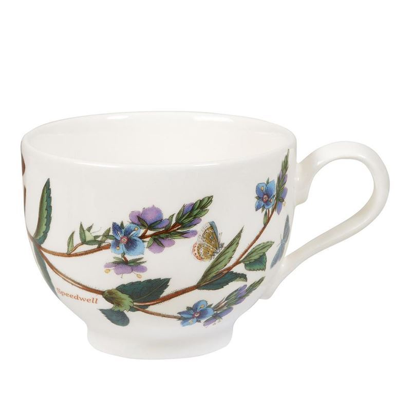 Portmeirion Botanic Garden – Tea Cup Speedwell 200ml Traditional Shape (Made in England)