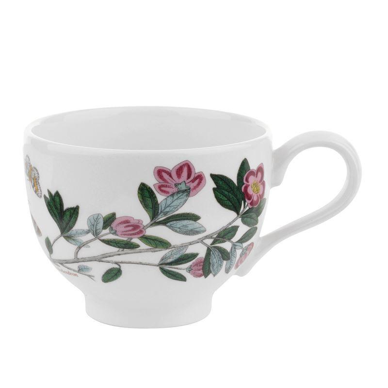 Portmeirion Botanic Garden – Tea Cup Rhododendron 200ml Traditional Shape (Made in England)