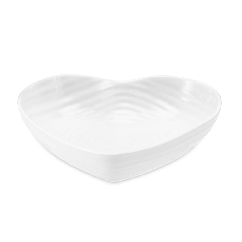 Sophie Conran for Portmeirion – Ice White Small Heart Bowl 15cm