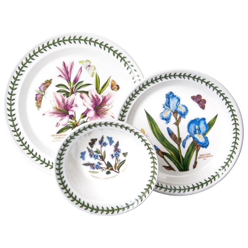 Portmeirion Botanic Garden – 12pc Dinner Set (Made in England)