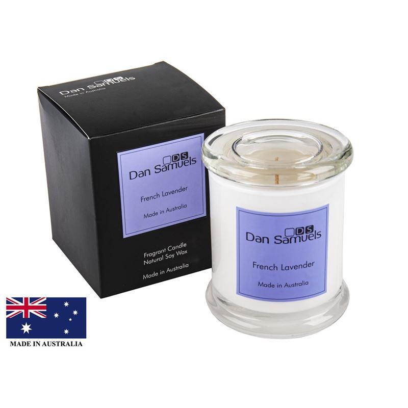 Dan Samuels – Metro Jar Filled Candle French Lavender 340ml (Hand Made in Australia)
