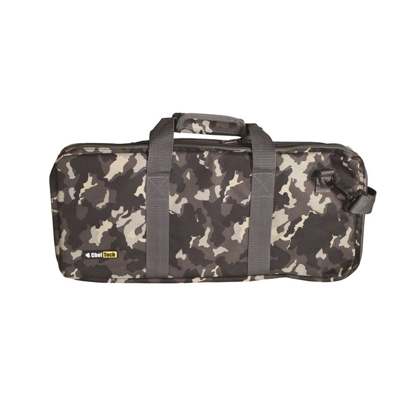 ChefTech by Victorinox – 18 Pocket Knife Roll with Handles 54x25cm Camouflage