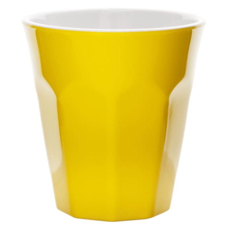 Benzer – Ice Melamine Tumbler 275ml Yellow