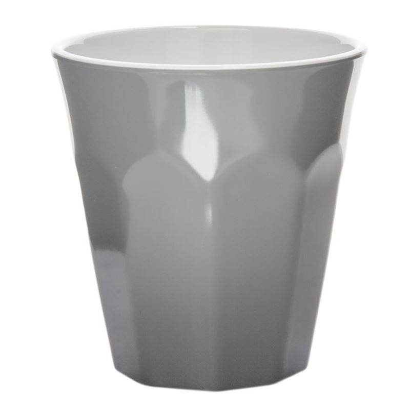 Benzer – Ice Melamine Tumbler 275ml Grey