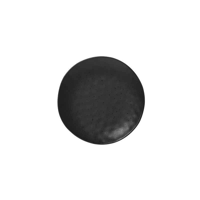Ecology – Ebony Speckle Side Plate 21cm – Premium Stoneware