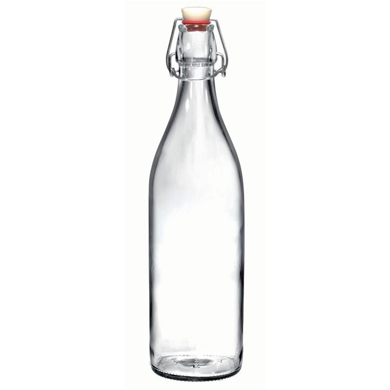 Bormioli Rocco – Giara 1Ltr Clip Top Bottle Clear