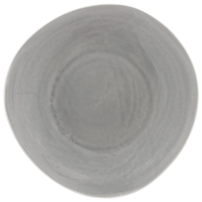 Benzer – Noosa Smoke Grey Serving Platter 32.5cm