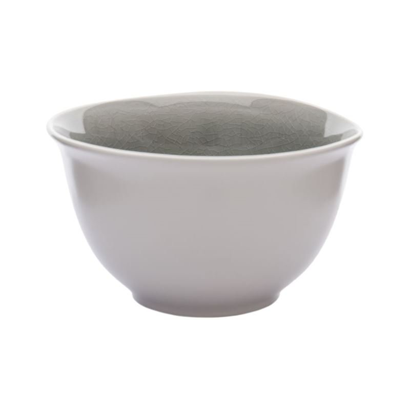 Benzer – Noosa Smoke Grey Rice Bowl 14cm