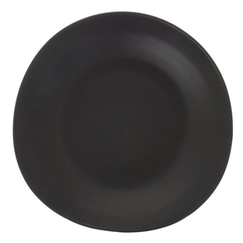 Benzer – Noosa Matt Black Dinner Plate 28cm