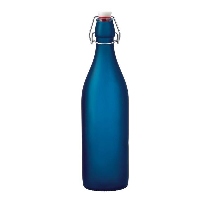 Bormioli Rocco – Giara 1Ltr Clip Top Bottle Cobalt