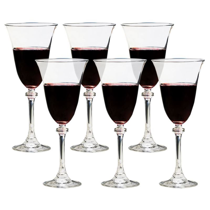 Bohemia by Circle Glass – Libretto Crystalline Wine 350ml Set of 6 (Made in Czech Republic)