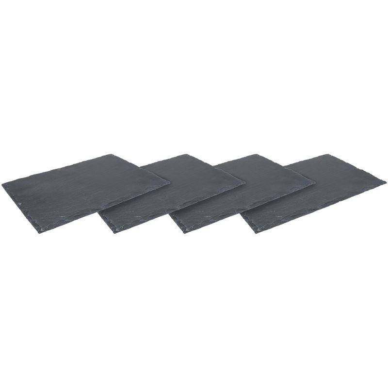 Zuhause – Aldo Slate Serving Board 30x20cm Set of 4