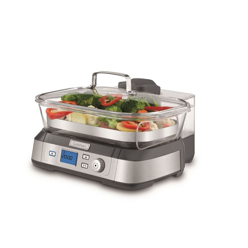 Cuisinart – CookFresh Digital Glass Steamer 5Ltr