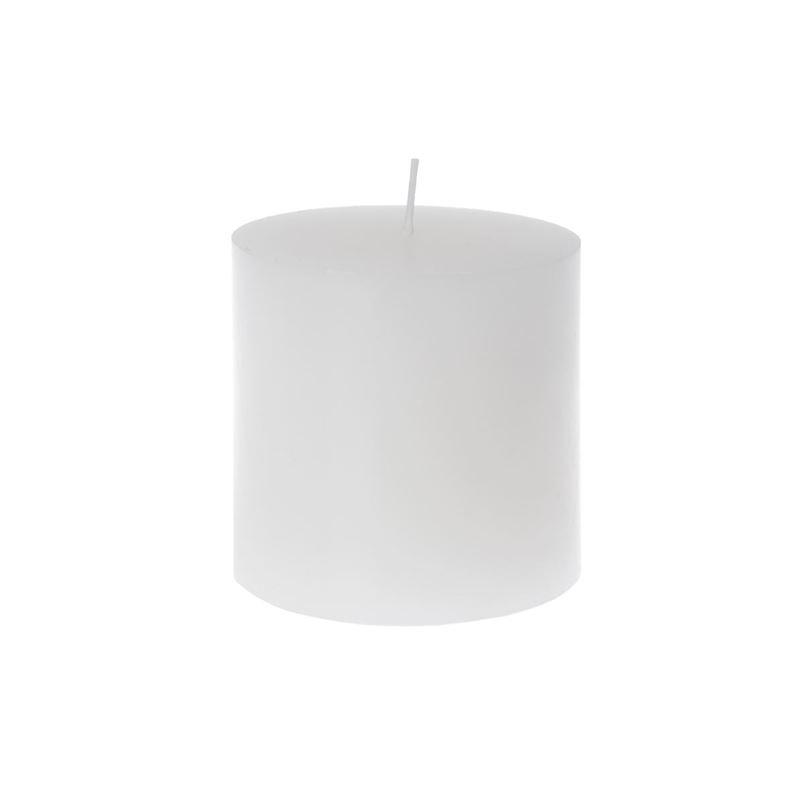 Zuhause – Klassik Candle 10x10cm White