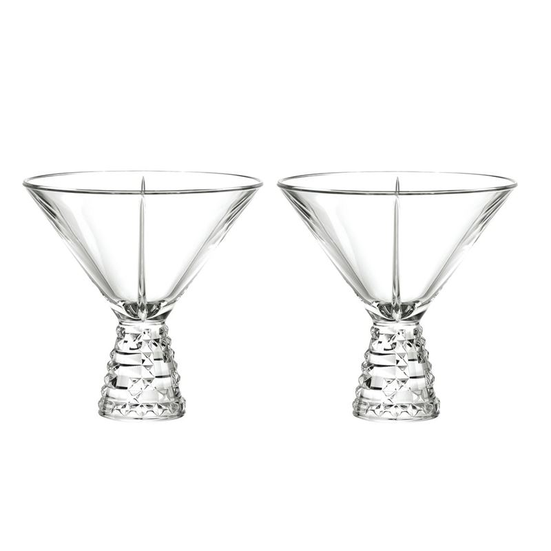 Nachtmann Crystal – Punk Cocktail Glass 230ml Set of 2 (Made in Germany)