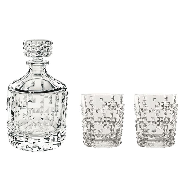 Nachtmann Crystal – Punk Whisky 3pce Set (Made in Germany)