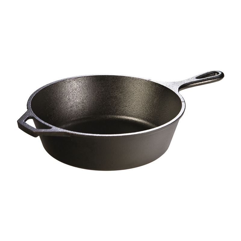 Lodge – Logic Cast Iron DEEP Skillet 26cm (Made in the U.S.A)