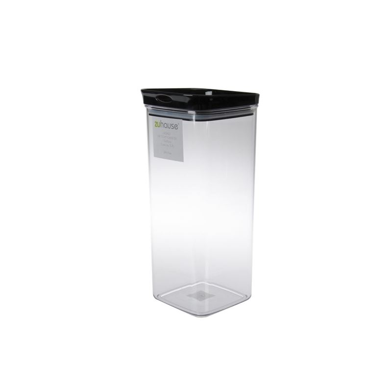 Zuhause – Mono Square Air Tight Canister 13x30cm 3.2Ltr