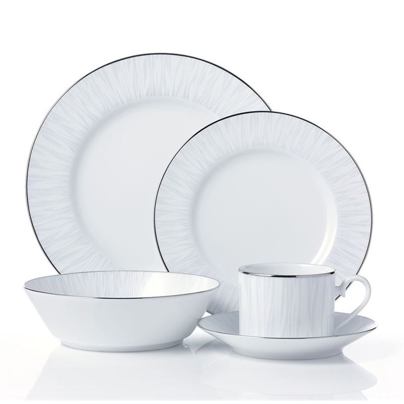 Noritake – Glacier Platinum 20pc Dinner Set