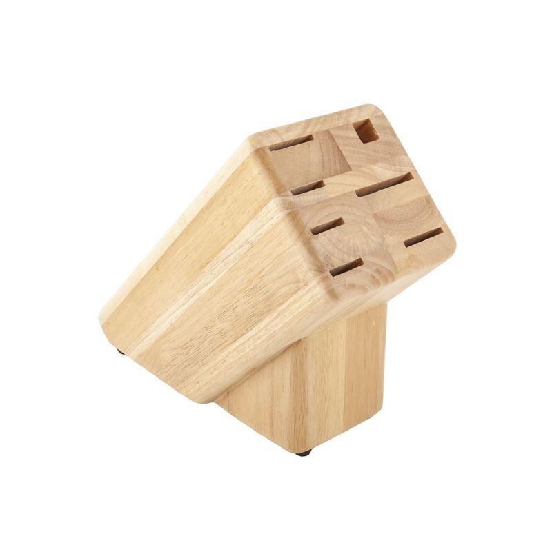 Premium –  Blonde Wood Block 7 Slot (Empty)
