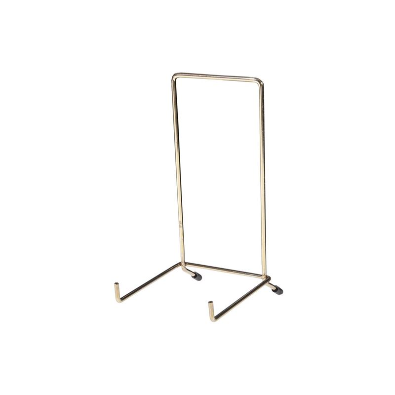 JeS – Brassed Plate Stand no.6 (Made in England)