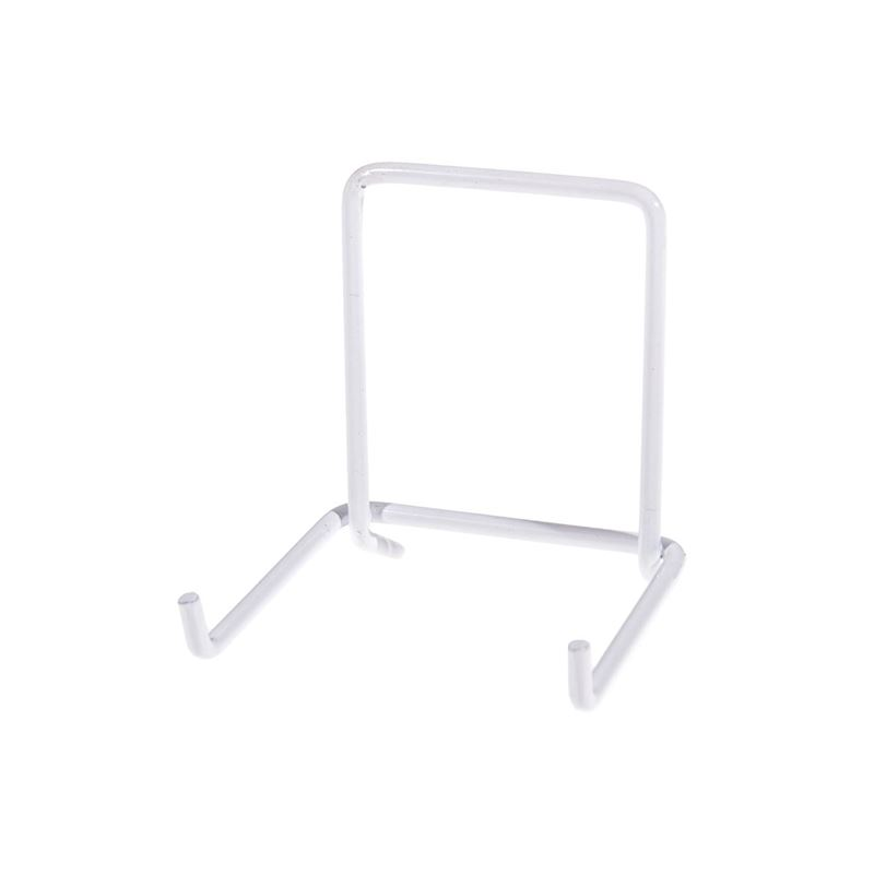 JeS – White Coated Plate Stand No. 2 (Made in England)