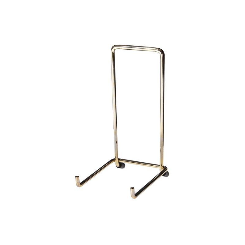 JeS – Brassed Plate Stand no.4 (Made in England)