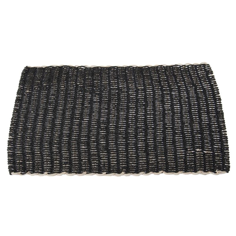 Zuhause – Lombok Natural Weave Placemat 30x45cm Charcoal