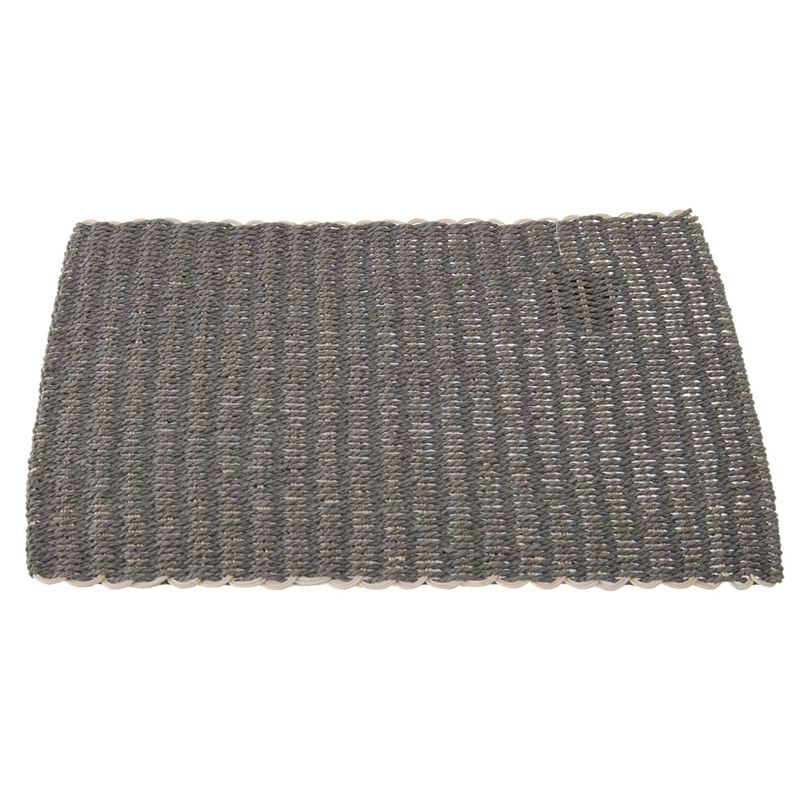 Zuhause – Lombok Natural Weave Placemat 30x45cm Slate