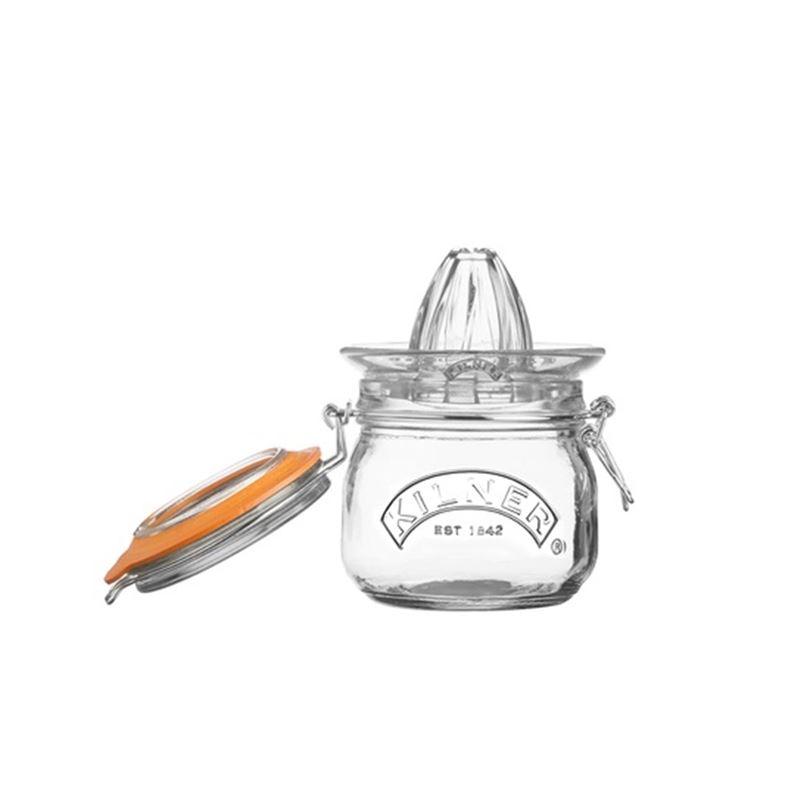 Kilner – Clip Storage Jar with Juicer Lid 500ml