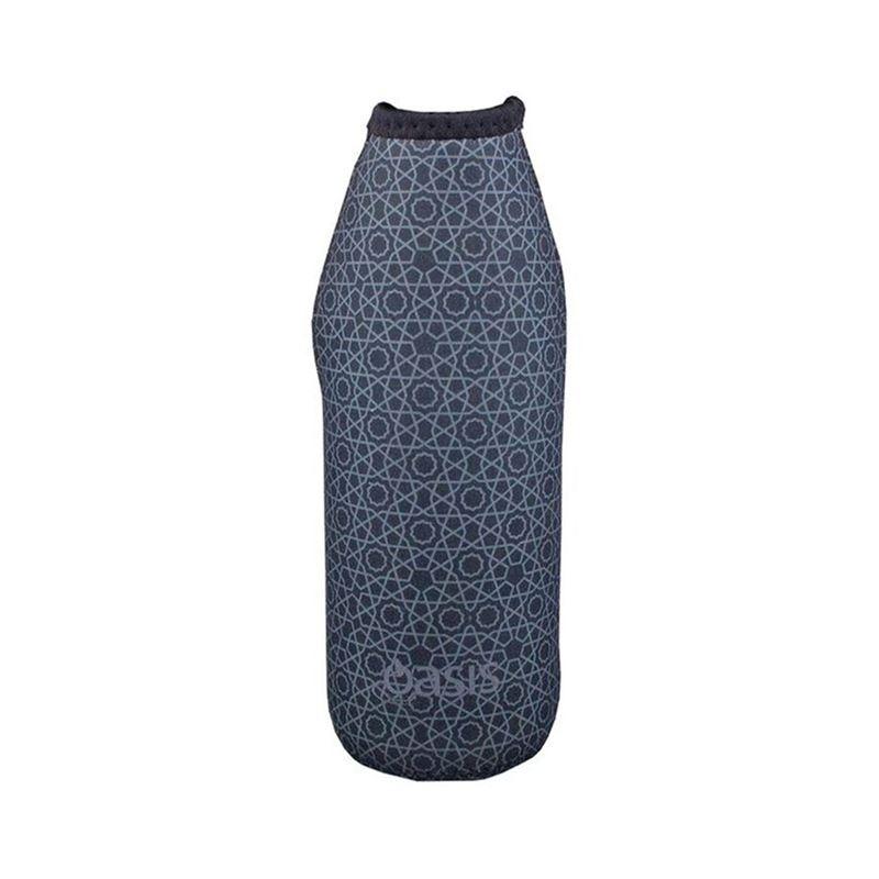 Oasis – Neoprene Bottle Sleeve 500ml Geometric